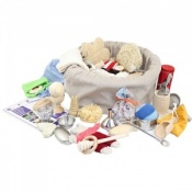 Large Sensory Toy Treasure Basket for 10 Months Plus