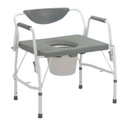 Drive Medical - Deluxe Bariatric Drop Arm Commode