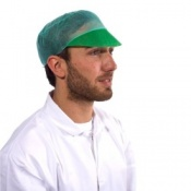 Supertouch Disposable Peaked Cap (500 caps)