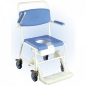 Drive Medical - Uppingham Mobile Commode Shower Chair