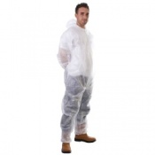 Supertouch Disposable Non Woven PP Coveralls (50 Coveralls)