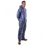 Supertouch Disposable Non Woven PP/PE Coveralls (50 Coveralls)