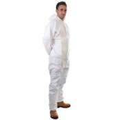 Supertouch Disposable Supertex Type 5/6 Coveralls (50 Coveralls)