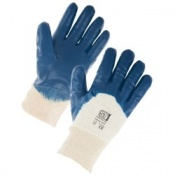Supertouch Nitrile Heavyweight Palm Dip Gloves (120 pairs)