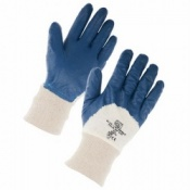 Supertouch Lightweight Nitrile Palm Dip Knit Wrist Gloves (120 pairs)