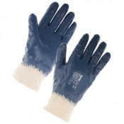 Supertouch Lightweight Nitrile Full Dip Knit Wrist Gloves (120 pairs)