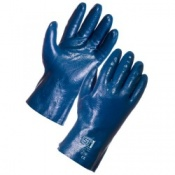 Supertouch Blue Grit Nitrile Gloves (120 pairs)