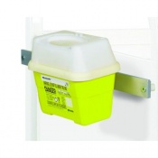 Two and Three-Litre Sharps Bin Holder for Sunflower Medical Vista Storage Trolleys