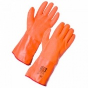 Supertouch Thermal PVC Hi-Vis Gauntlet (120 pairs)