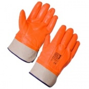 Supertouch Thermal PVC Hi-Vis Gloves