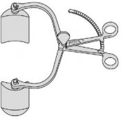 Collin Abdominal Retractor Two Bladed Without Centre Blade
