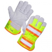 Supertouch High Visibility Gloves