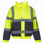 Supertouch Hi-Vis Two Tone Bomber Jacket (10 Jackets)