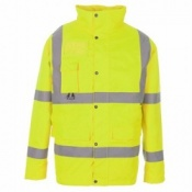 Supertouch Hi-Vis Breathable Jacket (10 Jackets)