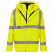 Supertouch Hi-Vis Breathable 4-in1 Parka(10 Parkas)