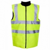 Supertouch Hi-Vis Reversible Twill Lined Bodywarmers (20 Bodywarmers)