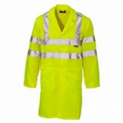 Supertouch Hi-Vis Lab Coat