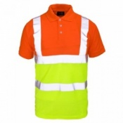 Supertouch Hi-Vis Two Tone Polo Shirt (20 Shirts)
