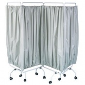 Bristol Maid Four Section Curtain Screen