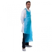 Supertouch Disposable PE Aprons 60 Micron (250 aprons)