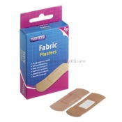 Patch And Go Assorted Fabric Plasters (Pack of 16)