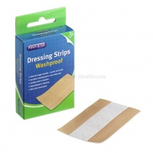 Patch And Go Washproof Dressing Strips 6 x 10cm (Pack of 10)
