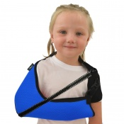 4Dflexisport® Blue Children's Deluxe Anti-Neckache Arm Sling