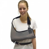 4Dflexisport® Grey One-Size Ultra Comfort Arm Sling