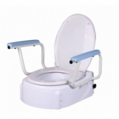 Altia Height Adjustable Raised Toilet Seat