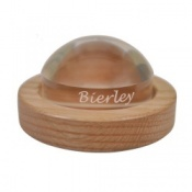 64mm Dome Magnifier with Oak Base