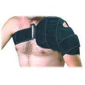 66fit Shoulder Cold Compression Cuff With Ice Pack & Shut off Valve