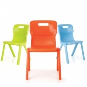 Antimicrobial Paediatric Side Chair - Size 1