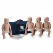 Prestan Professional Infant CPR/AED Training Manikin With CPR Monitor Pack Of Four