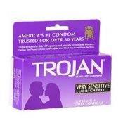 Trojan Very Sensitive Lubricated