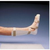 Rolyan Pre-Formed Foot Drop Splint with Expanded Heel
