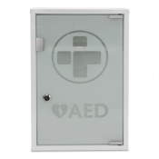 AED Metal Wall Cabinet with Glass Door