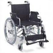 Z-Tec Deluxe Folding Standard Width Self Propelled Aluminium Wheelchair