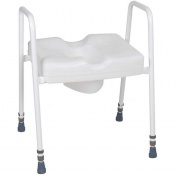 Harvest Adjustable Toilet Frame with Raised Toilet Seat
