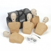 Adult/Child CPR Tan Prompt Manikin 5 Pack