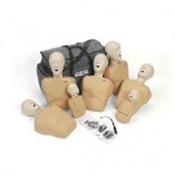 Adult/Child and Infant CPR Prompt Tan Manikin 7 Pack