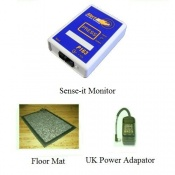 Alert-it Radio Sense-it Monitor System with Floor Mat