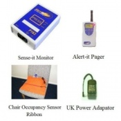 Alert-it Radio Sense-it Monitor System with Chair Occupancy Sensor & Pager