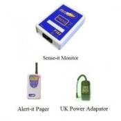 Alert-it Radio Sense-it Monitor System with Switch Capability & Pager