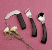 Amefa Curved Cutlery Full Set Left Handed