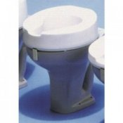 Ashby Raised Toilet Seat 4inch/10cm Standard