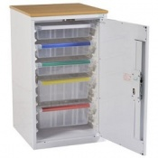 Bristol Maid 870mm Drug and Medicine Storage Cupboard