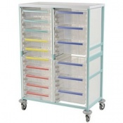 Bristol Maid High Level Double Column Caretray Trolley