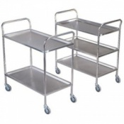 Bristol Maid Light Duty Stainless Steel Trolley