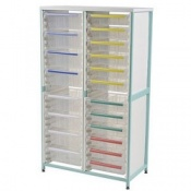 Bristol Maid Double Column Caretray Rack