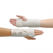 Rolyan D-Ring Wrist Splint with MCP Support
